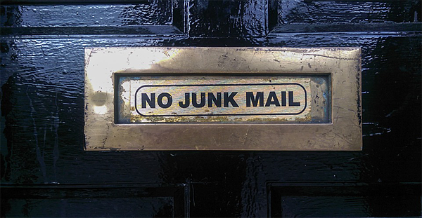 Email Spam - No junk mail
